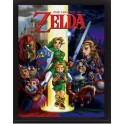 Cuadro 3D The Legend of Zelda