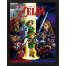 Cuadro 3D The Legend of Zelda