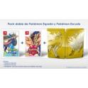 Pokemon Espada + Escudo Steelbook DOBLE - Switch
